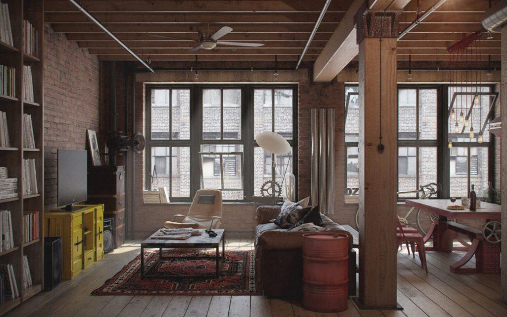 Desain interior industrial bonafide palembang