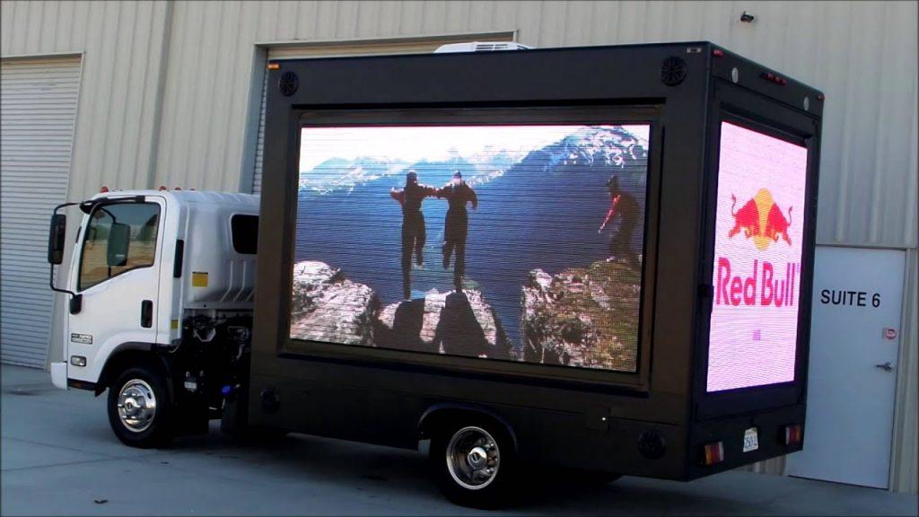 LED Videotron mobil palembang