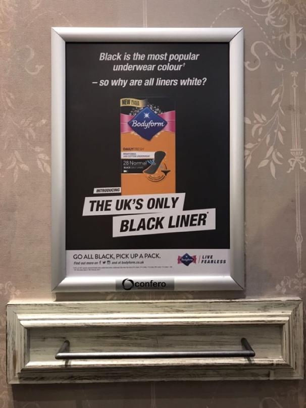 poster dengan ukuran yang tepat