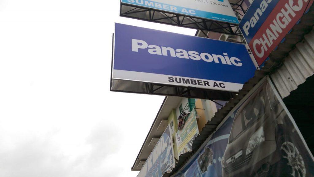 Pembuatan Banner Panasonic Bonafide