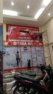 banner honda