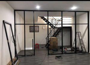 dinding kaca