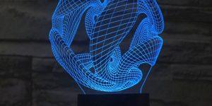 Lampu LED Hias dalam toples