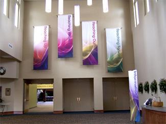 banner indoor