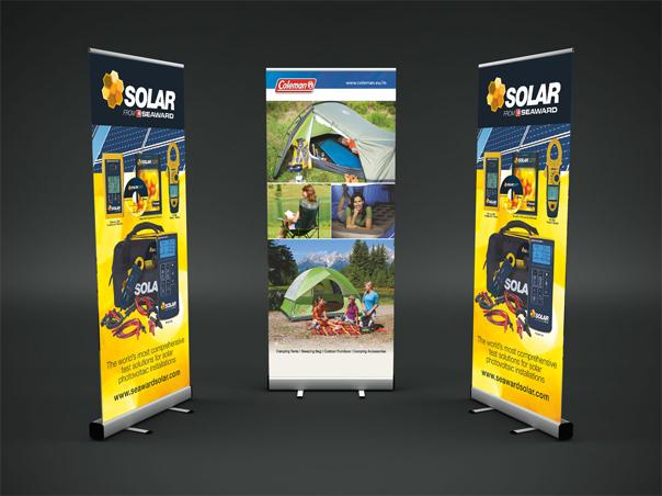 cara pembuatan banner roll up banner