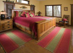 desain interior kamar tidur carpet