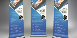 Jenis Banner Roll Up