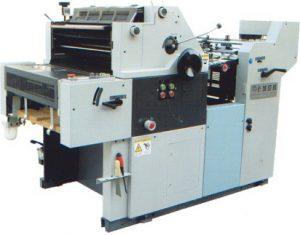 mesin printing offset