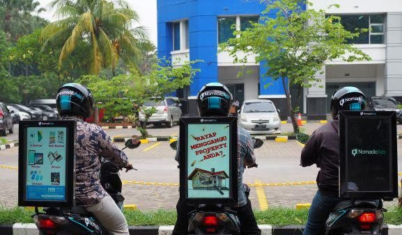 Iklan motor di Palembang