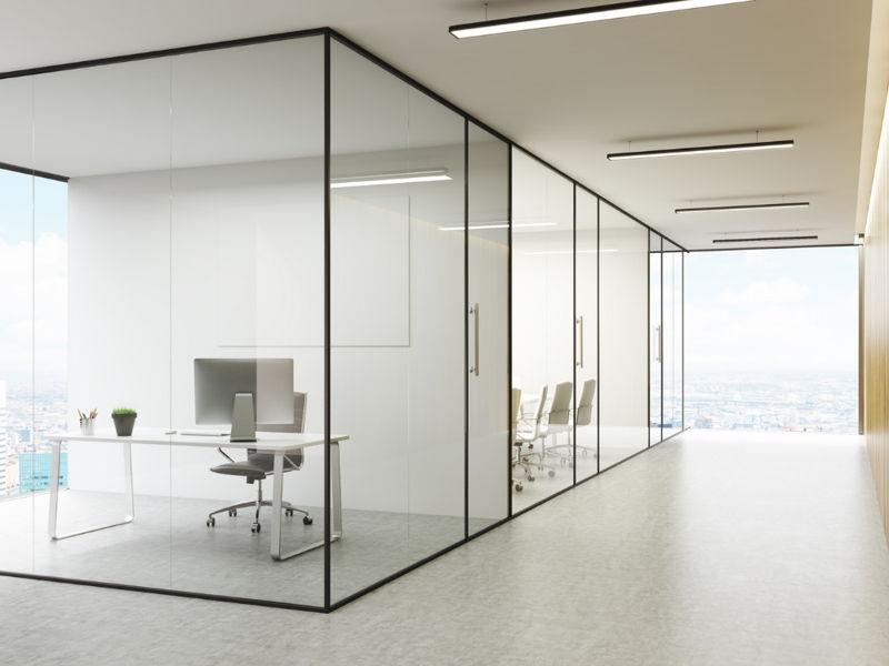 design kaca kantor