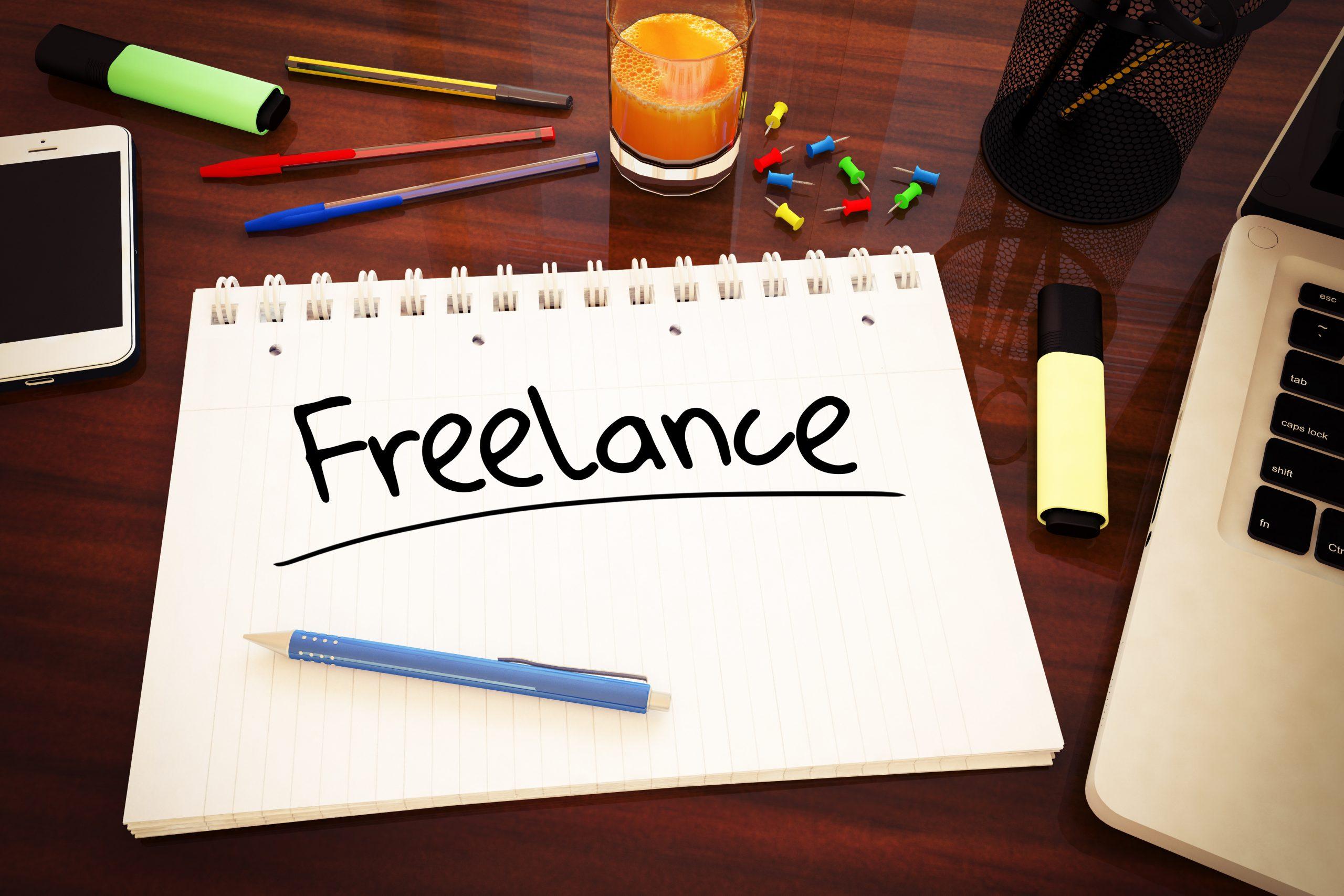 Menjadi freelance untuk tambahan uang
